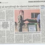 Projekt pro města a obce - Českobudějovický Deník 8. 2. 2011